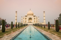 Дворец Тадж Махал. Агра. Индия