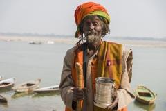 Портрет аскета. Варанаси. Индия