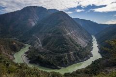 Изгиб реки Ганга. Ришикеш. Индия