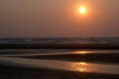 Закат на море. Гоа. Индия