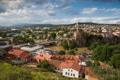 Вид на Тбилиси. Грузия