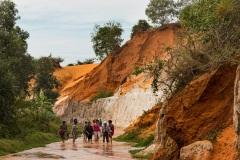 Красный каньон в Муйне. Вьетнам