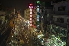 Улица Мейн Базар в городе Нью-Дели. Индия