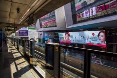 В метро Бангкока. Тайланд.