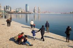 Набережная Баку. Азербайджан.