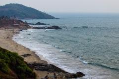 Пляж Ашвем. Северное Гоа. Индия
