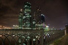 Небоскрёбы Москва-сити. Москва. Россия