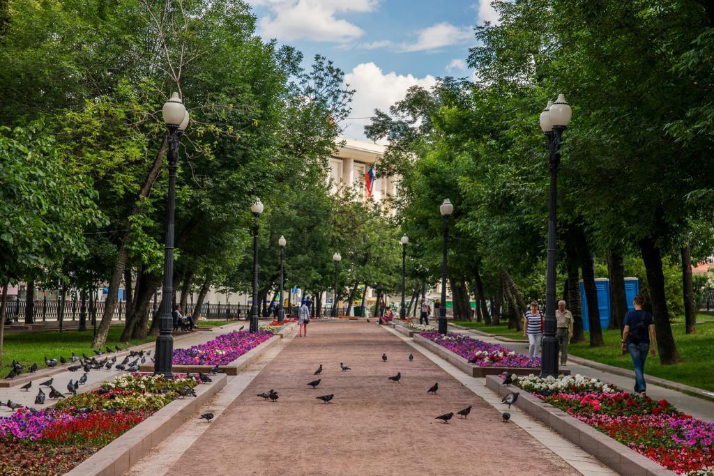 Красивое Бульварное кольцо Москвы