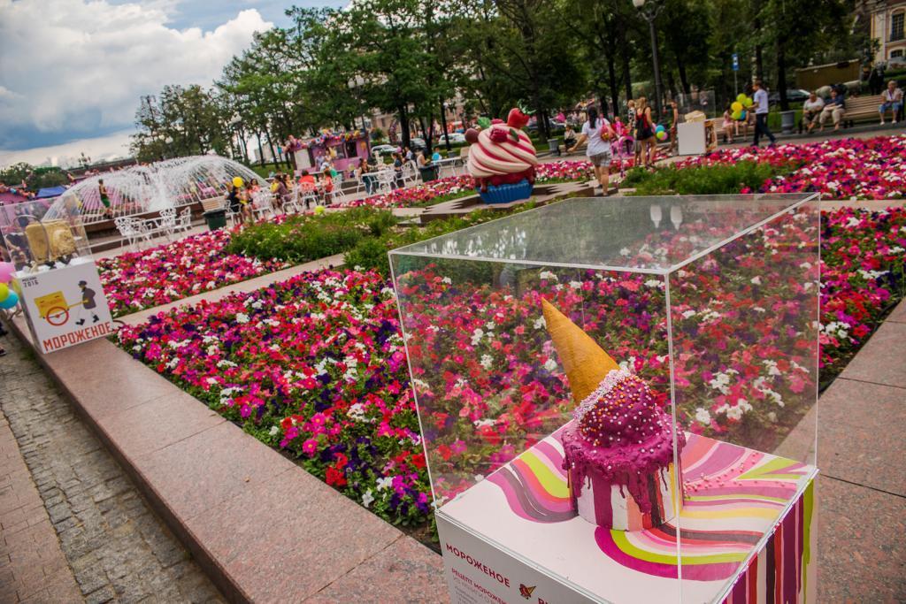 Лето в Москве. Бульварное кольцо
