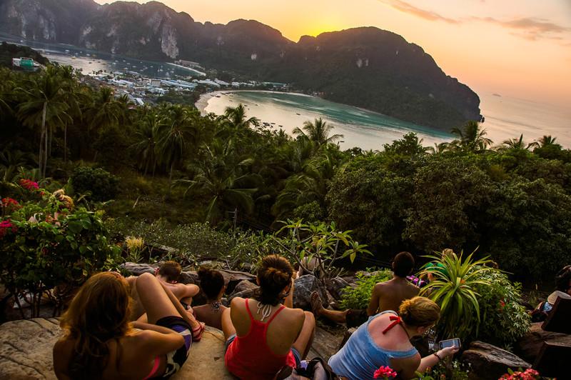 Путешествие в ТайландПхи-Пхи.