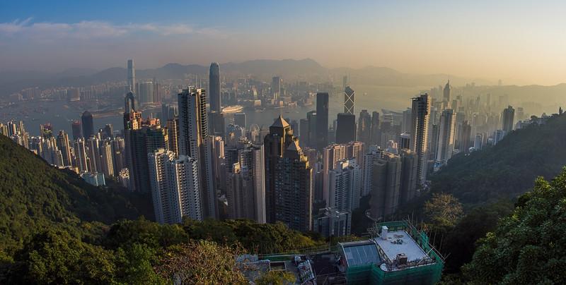 современный Гонгконг