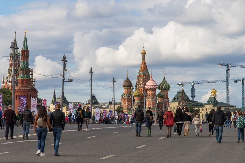 Москва, тебе 870 лет!