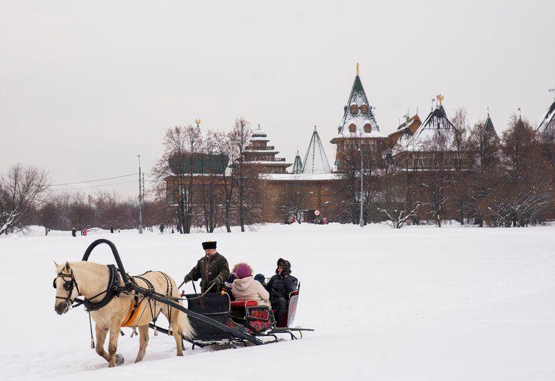 праздник Масленица в Коломенском