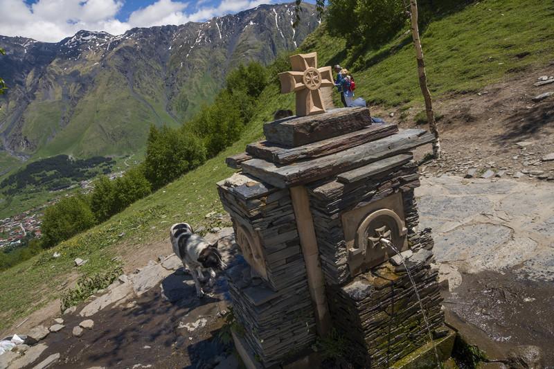 путешествие на Казбеги