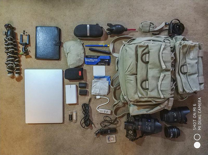 подготовка рюкзак к путешествию