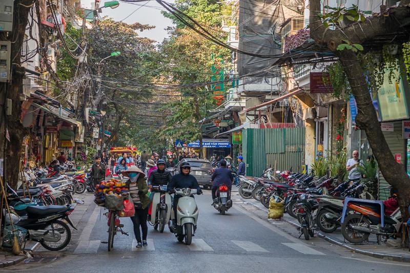 движение города Ханой