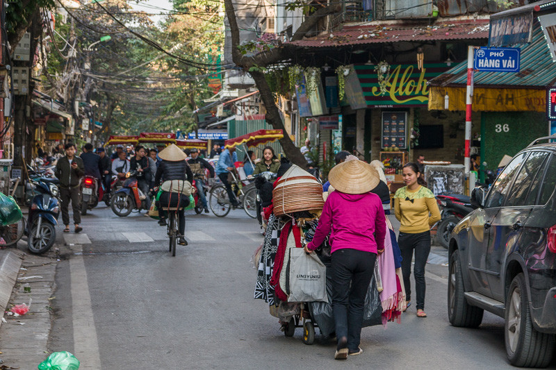 Ханой город мотоциклов