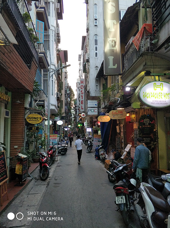 переулки Ханоя