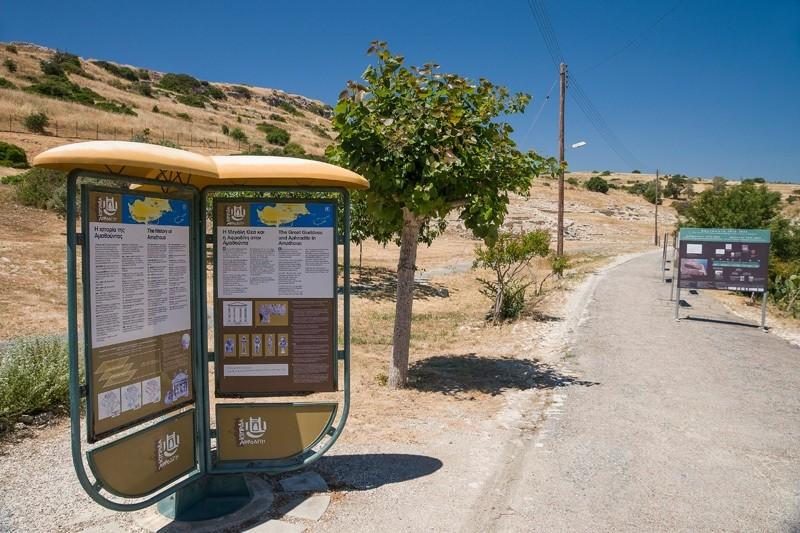 руины города Аматус. Кипр