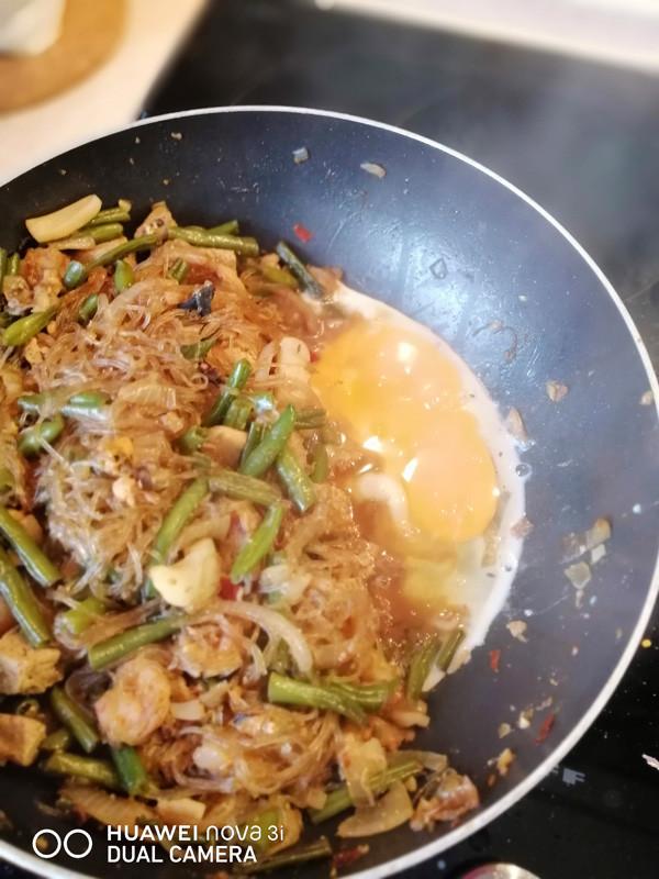 Рецепт Пад-Тай. Падтай. Лапша с морепродуктами. Тайское блюдо