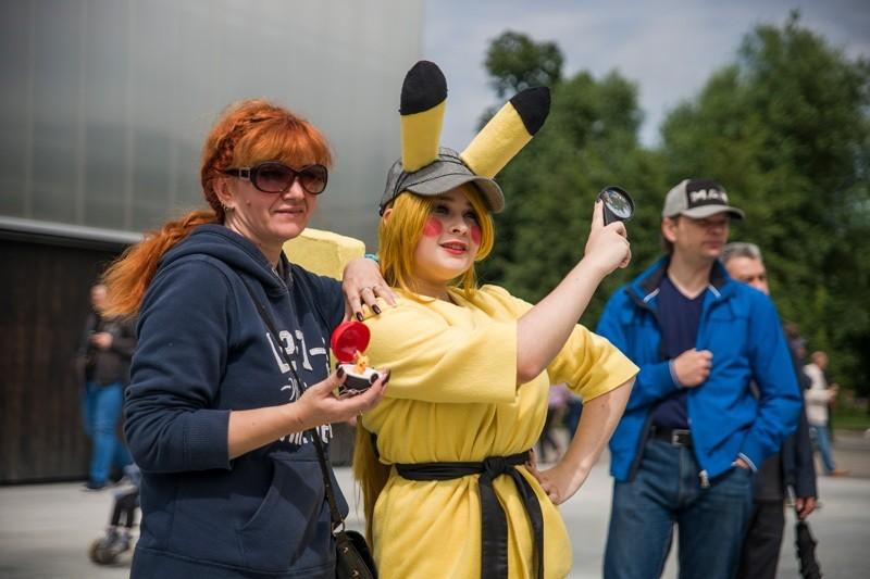Российский парад косплея. Фестиваль Японии в Москве.