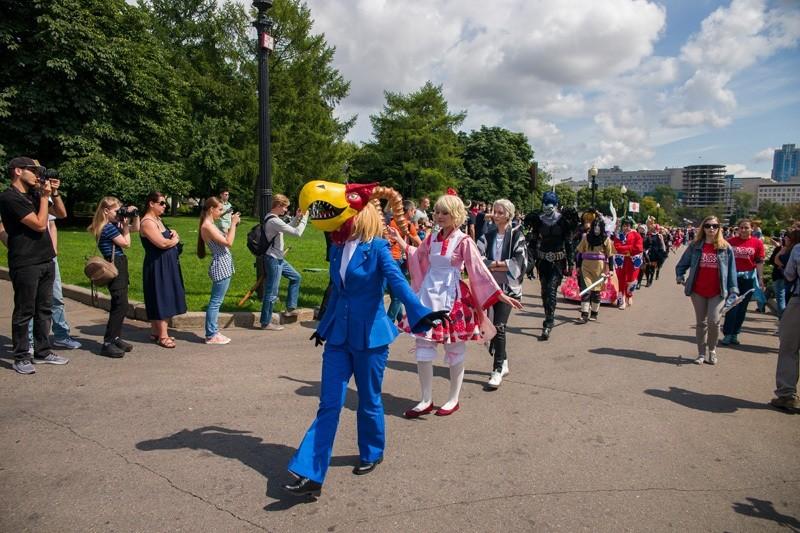 Фестиваль Японии в Москве.