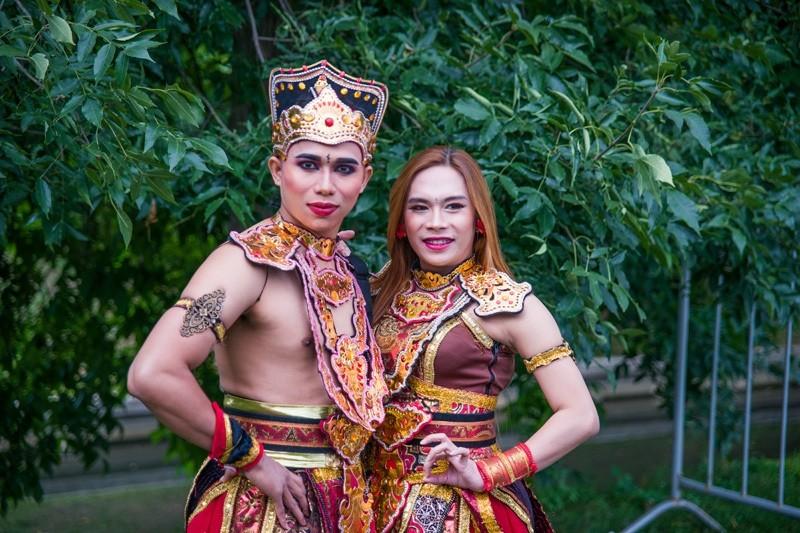 Красная пресня. Фестиваль Индонезии. Москва
