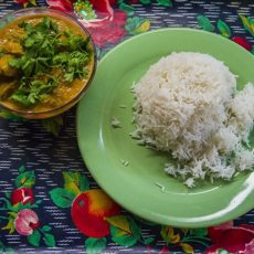 Индейка по-индийски или turkey tikka masala.
