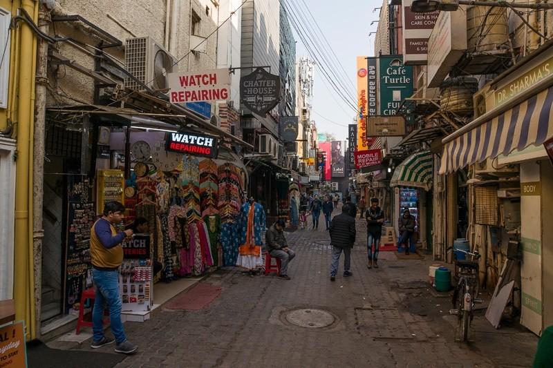 Кхан Маркет (Khan Market). Рынок брендовых вещей.