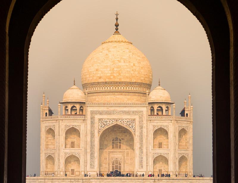 Агра. Тадж-Махал. Индия