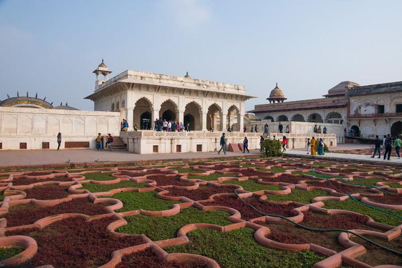 Агра форт (Красный форт). Индия