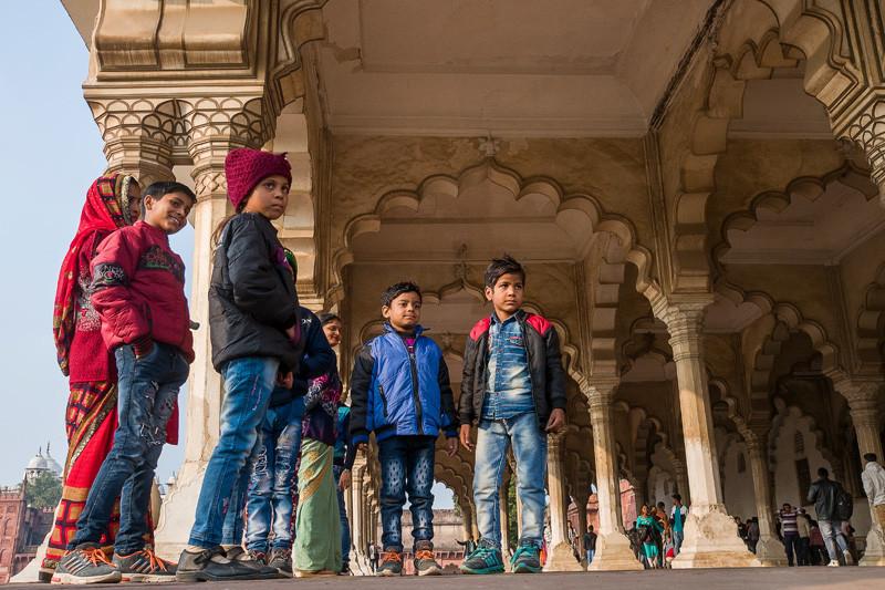 (Красный форт). Индия