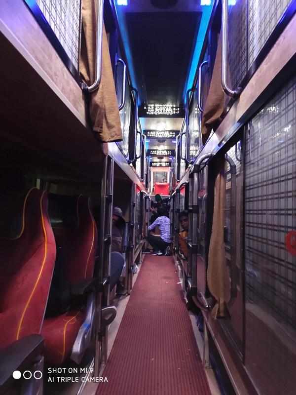 автобусы в Индии