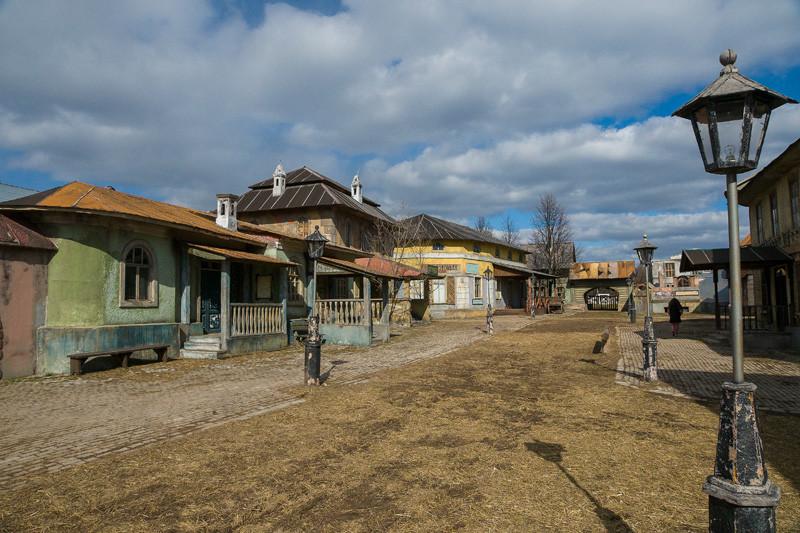 киногородок в музее-усадьбе Ленинские горки.