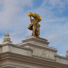 ВДНХ - один из самых популярных парков Москвы.