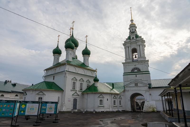 Кострома. Костромской кремль и река Волга.