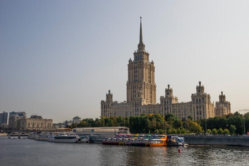 """""""Бабье лето"""" в Москве. Короткие прогулки."""