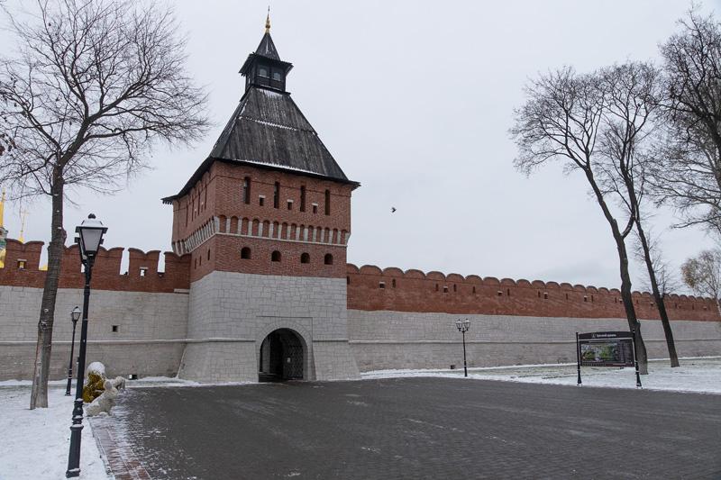 Тульский кремль. Поездка в Тулу.